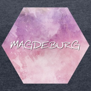 Magdeburg - Women's T-shirt with rolled up sleeves