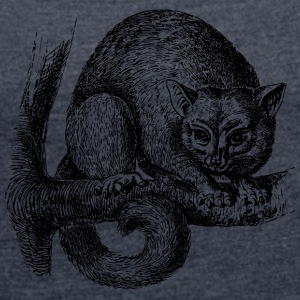 marsupial - Women's T-shirt with rolled up sleeves