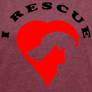 Rescue - Women's T-shirt with rolled up sleeves