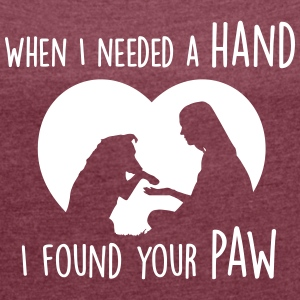 when i needed a hand i found your paw