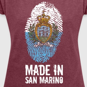 Made In San Marino / La Serenissima - Women's T-shirt with rolled up sleeves