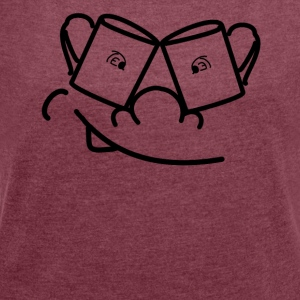 Time for the tea - Women's T-shirt with rolled up sleeves