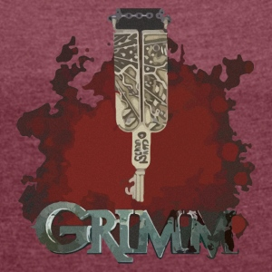 Grimm key - Women's T-shirt with rolled up sleeves