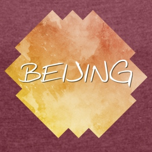Beijing - Beijing - Women's T-shirt with rolled up sleeves