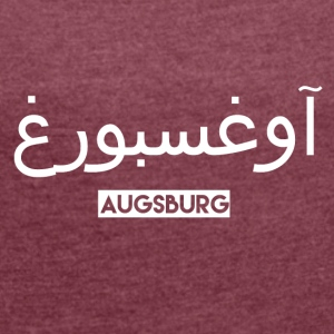 augsburg - Women's T-shirt with rolled up sleeves