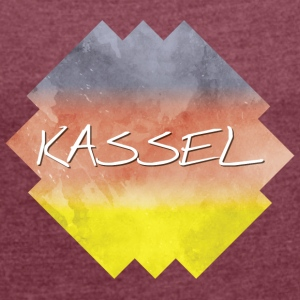 kassel - Women's T-shirt with rolled up sleeves