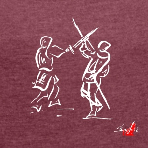 SWORD - Women's T-shirt with rolled up sleeves