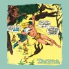 Tarzan Jane Old Comic Cover - Women's T-shirt with rolled up sleeves