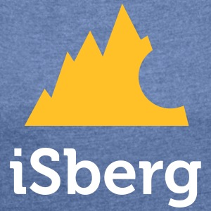 Isberg - Iceberg - Women's T-shirt with rolled up sleeves