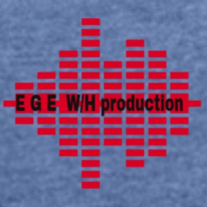 EGE_Production - Frauen T-Shirt mit gerollten Ärmeln