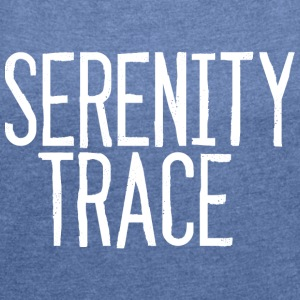 Serenity Trace LOGO W - Women's T-shirt with rolled up sleeves