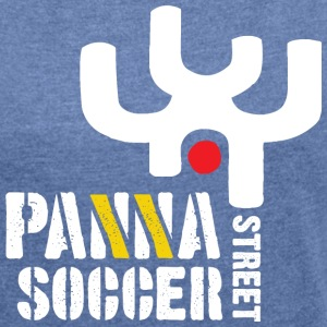 Panna Street Soccer (Tribal) - Women's T-shirt with rolled up sleeves