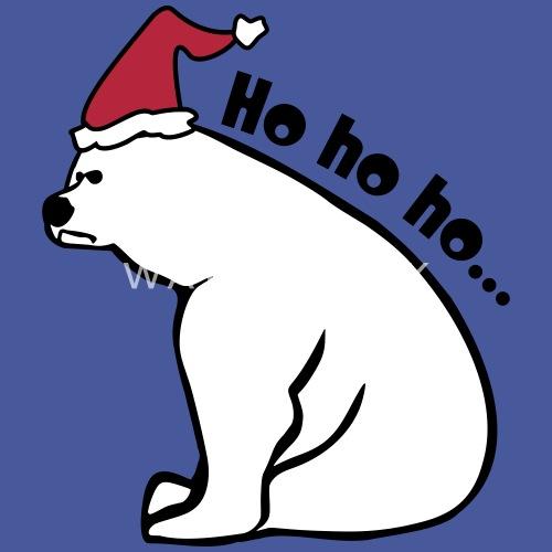 Anti Weihnachten Ho ho ho Bär von BPetri | Spreadshirt