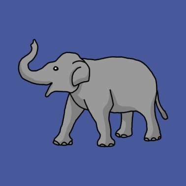 Elefant Mousepad Spreadshirt