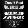 You are AWESOME - Tasse einfarbig