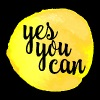 Yes You Can Quote - Ensfarvet krus