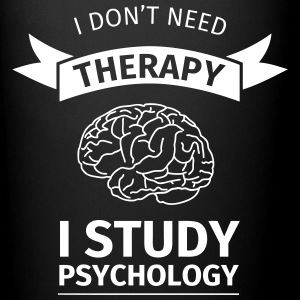 I don't neet therapy I study psychology