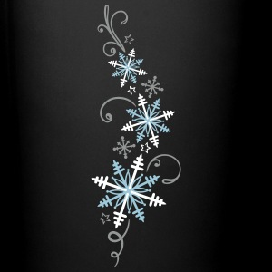 Snowflakes design. Winter, ice and snow.