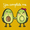 You Complete Me (Avocado) - Mok uni