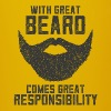 With Great Beard Comes Great Responsibility - Full Colour Mug