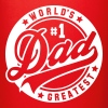 worlds greatest dad no1 uni - Enfärgad mugg