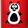 Panda I love you - Kubek jednokolorowy