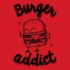 Burger Addict - Men's Slim Fit T-Shirt