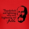 Galileo - Thunderbolt and lightning very very... - Men's Slim Fit T-Shirt