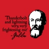 Galileo - Thunderbolt and lightning very... 2clr - Camiseta ajustada hombre