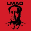 LMAO (Mao Zedong) - Männer Slim Fit T-Shirt