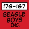 Beagle boys - Slim Fit T-skjorte for menn