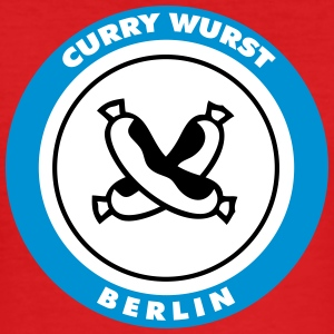 Berlin Currywurst - Slim Fit T-skjorte for menn
