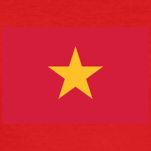 Nationalflagge von Vietnam - Männer Slim Fit T-Shirt
