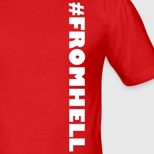 #FROMHELL - Slim Fit T-shirt herr