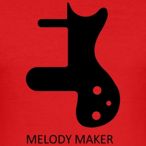MELODY MAKER - Men's Slim Fit T-Shirt
