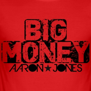 Big Money aaron jones - Maglietta aderente da uomo