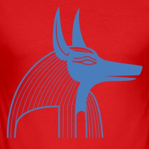 Egyptian Symbol - Herre Slim Fit T-Shirt