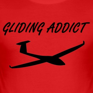 gliding Addict - Slim Fit T-skjorte for menn