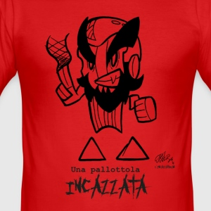 INCAZZATOMAN 2 - Men's Slim Fit T-Shirt