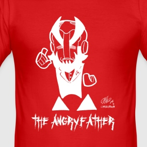 ANGRYFATHER - Slim Fit T-shirt herr