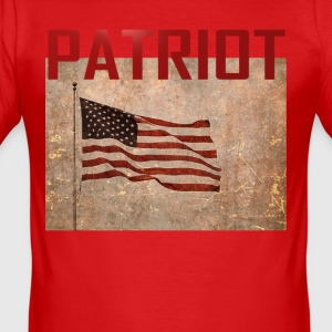 Patriot USA T-skjorte - Slim Fit T-skjorte for menn