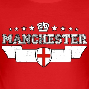 Manchester - Männer Slim Fit T-Shirt