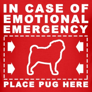 pug emergency - Men's Slim Fit T-Shirt