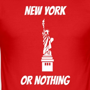 New York of niets Vrijheidsbeeld - slim fit T-shirt