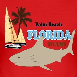USA Florida - Men's Slim Fit T-Shirt