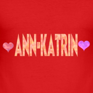 Ann-Katrin - Slim Fit T-skjorte for menn