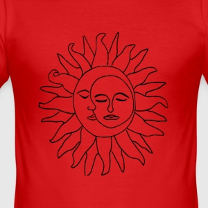 Sun and moon - Men's Slim Fit T-Shirt