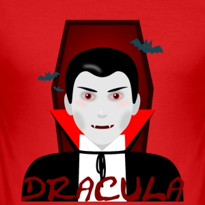 Dracula - Slim Fit T-shirt herr