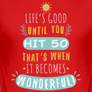 Wonderful - Camiseta ajustada hombre