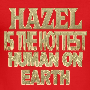 hazelnoot - slim fit T-shirt